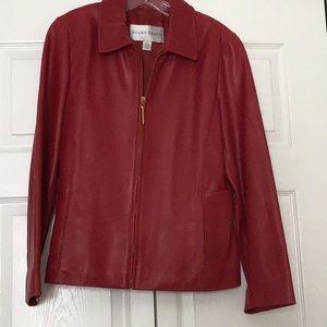 Ellen Tracy genuine leather jacket